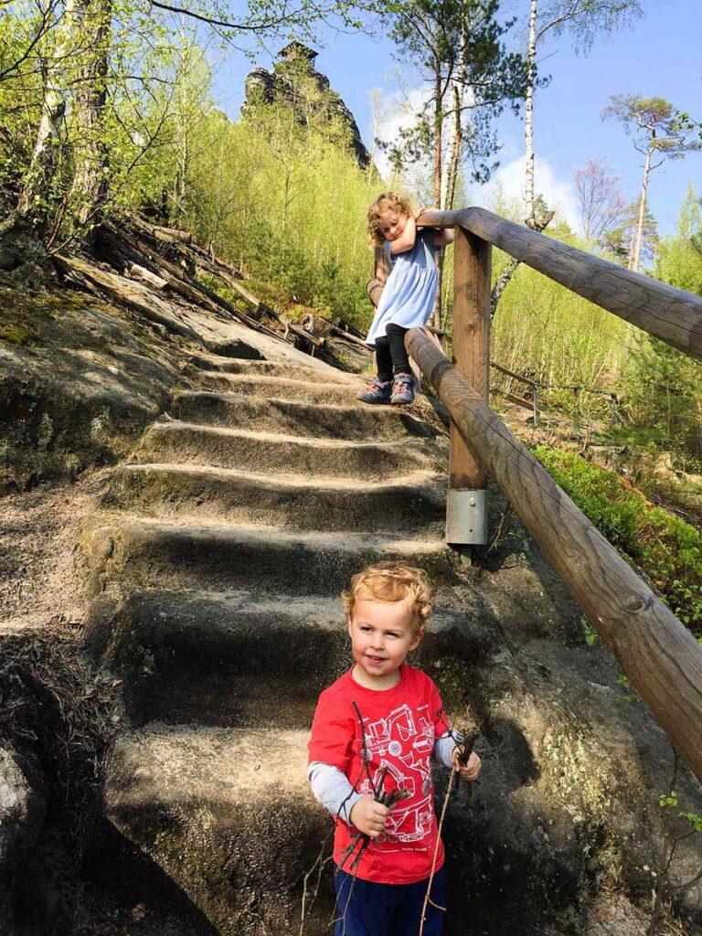 Mariina Vyhlidka - Bohemian Switzerland Hikes with Kids