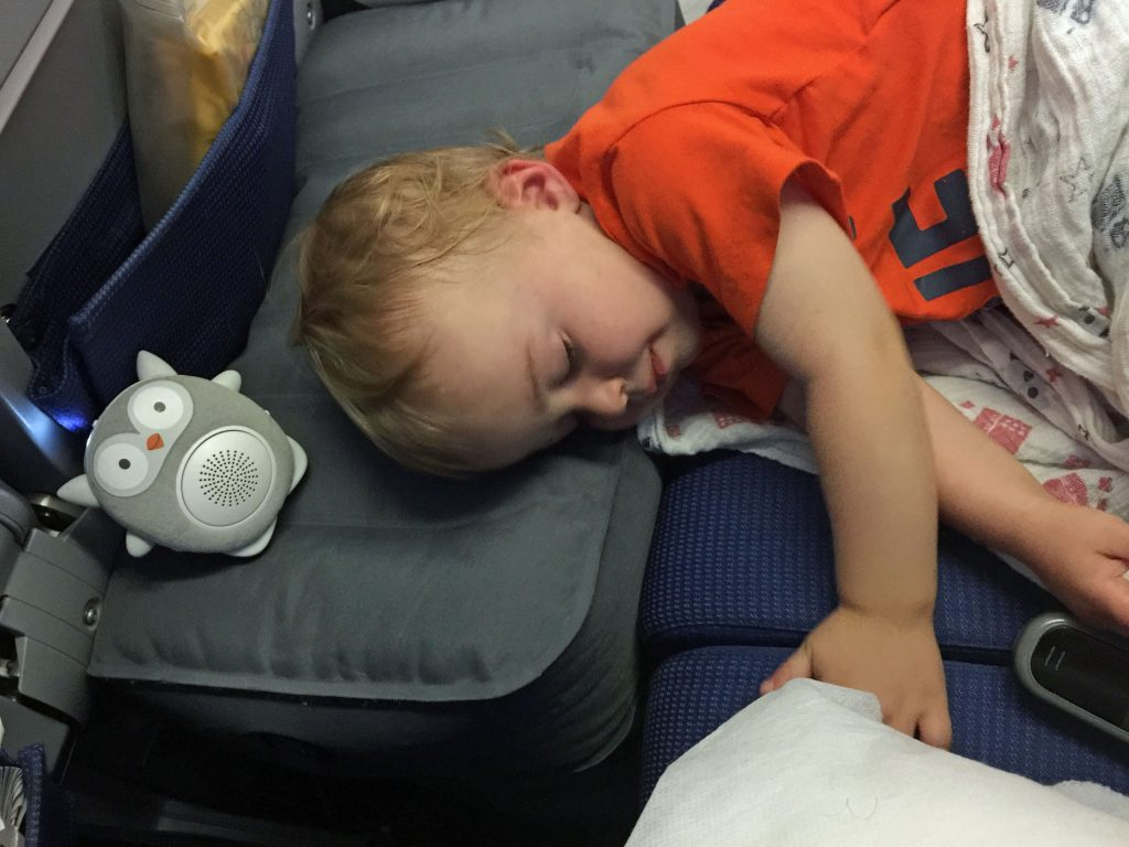 Fly tot airplane cushion