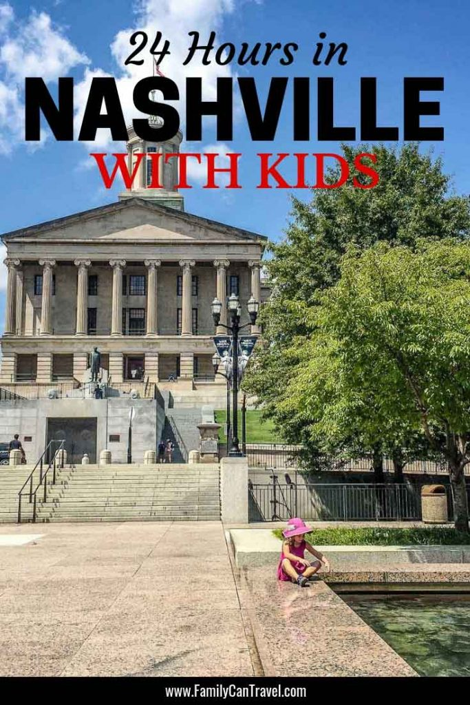 Visiting Nashville Tennessee with kids? Here's what to do in one day in Nashville with kids Fun Things To Do In Nashville With Kids #Nashville #Tennessee #Travelwithkids | Nashville with kids | Things to Do in Nashville with kids