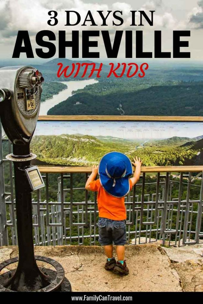 Best things to do around Asheville with kids #asheville #northcarolina #travelwithkids #hikingwithkids | Asheville with kids | Things to do | Hiking with Kids | Hikes around Asheville | Chimney Rock State Park | Looking Glass Falls | Graveyard Fields