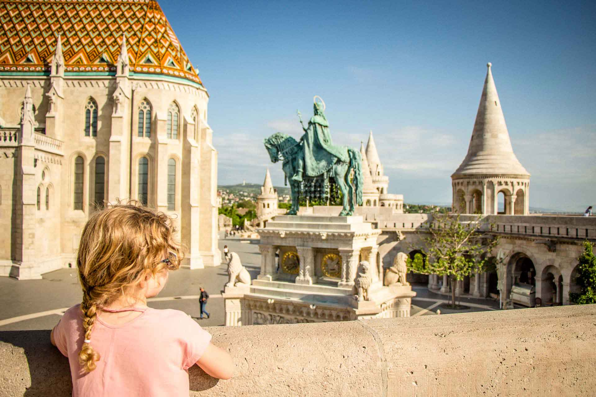 Budapest Family Friendly Walks - Fishermans Bastion