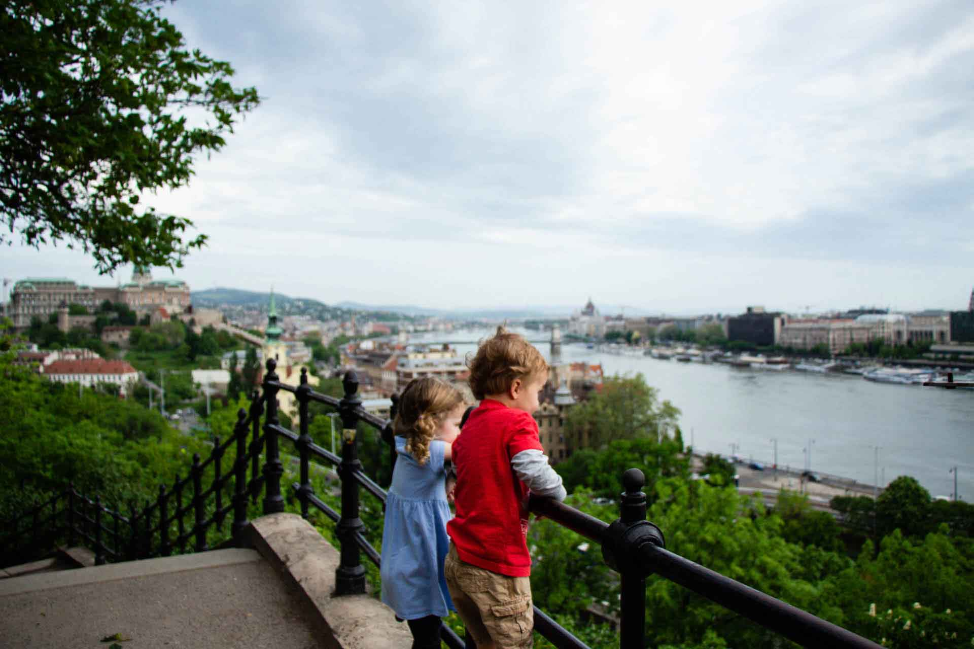 Budapest Family Friendly Walks - Gellert Hill