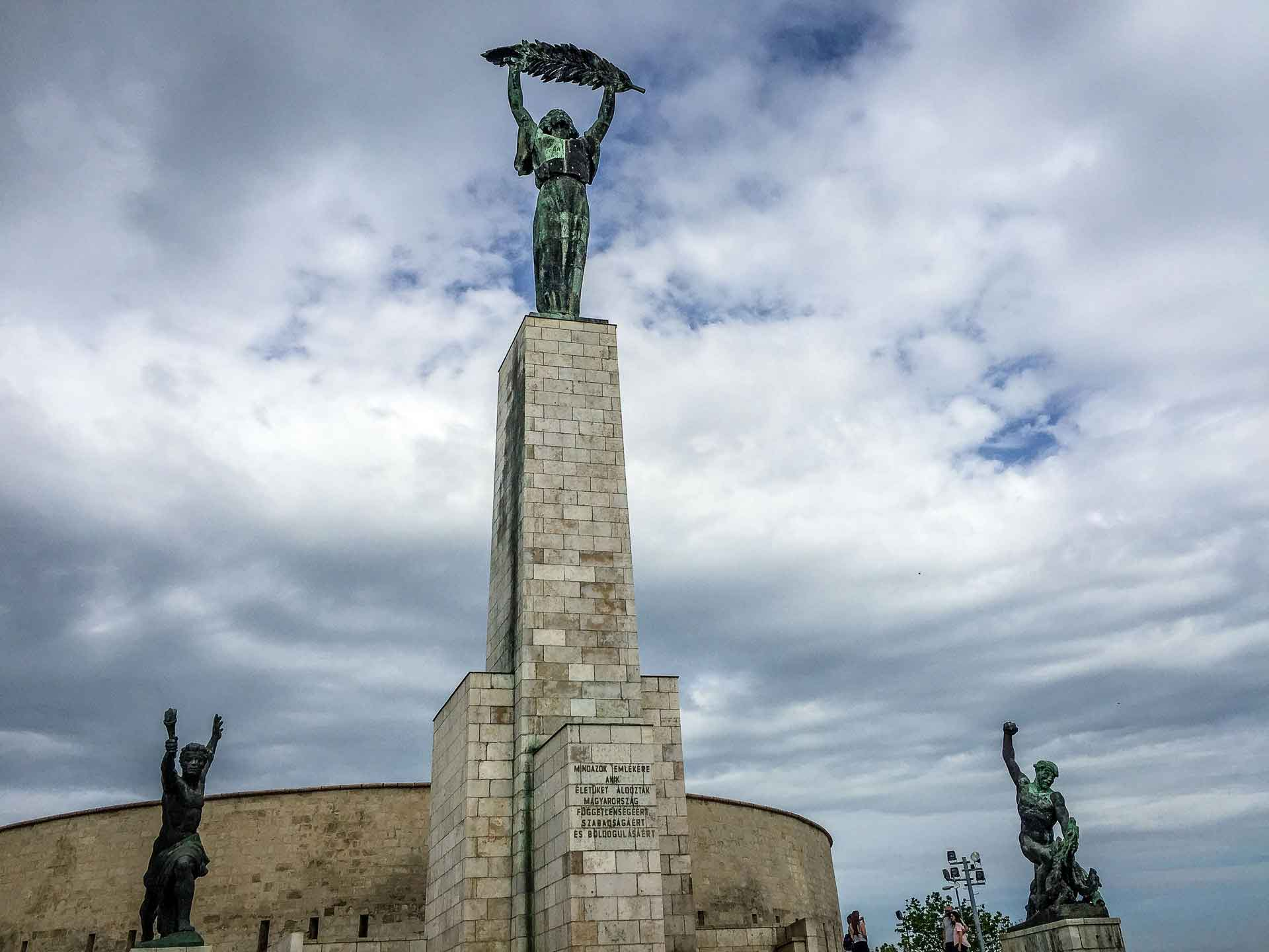 Budapest Family Friendly Walks - Liberty Statue