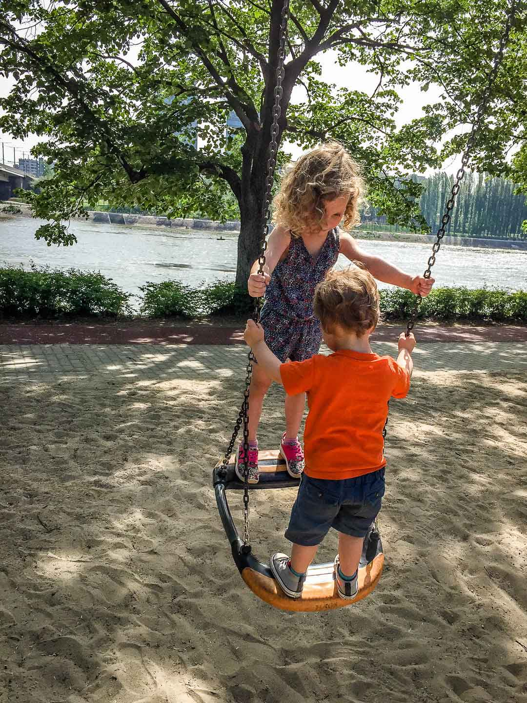 Budapest Family Friendly Walks - Margaret Island Playground