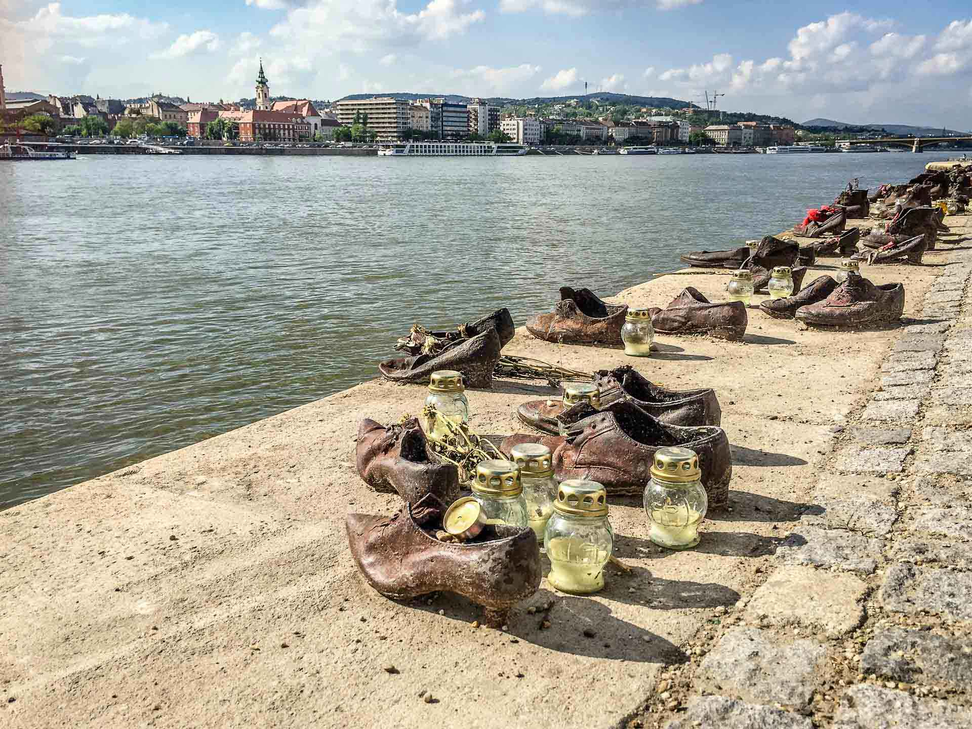 Budapest Family Friendly Walks - Shoes Danube