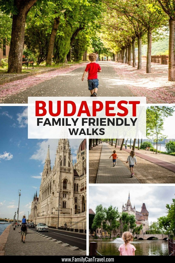Budapest has something wonderful around every corner and the best way to experience it is by walking! Here are 5 family friendly walks in Budapest that are suitable for kids. #budapest #hungary #travelwithkids || Budapest with Kids | Things to do | Itinerary | Trip Planning | Budapest Hungary | Travel with children