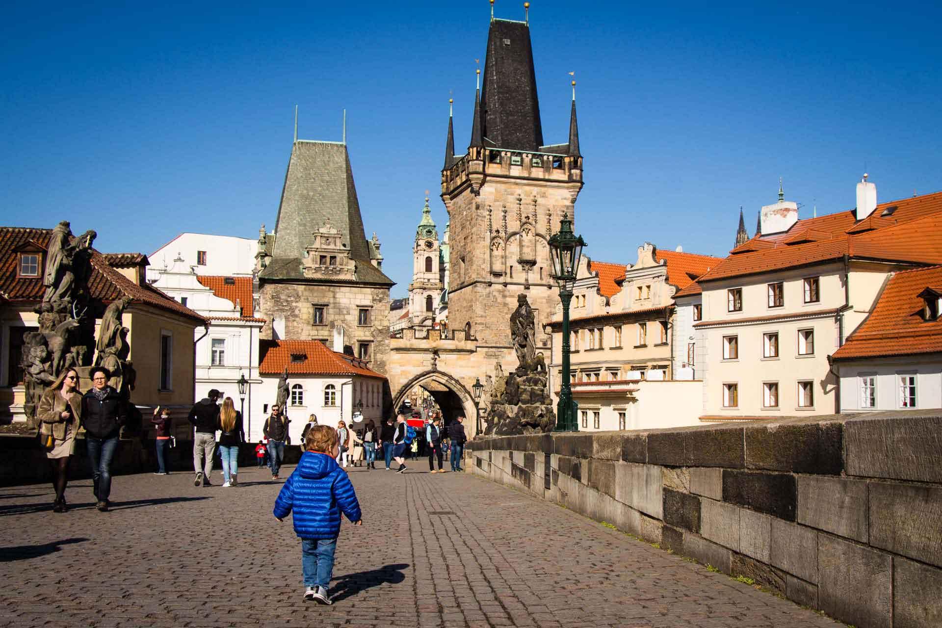 Charles Bridge - Prague Family Friendly Walks