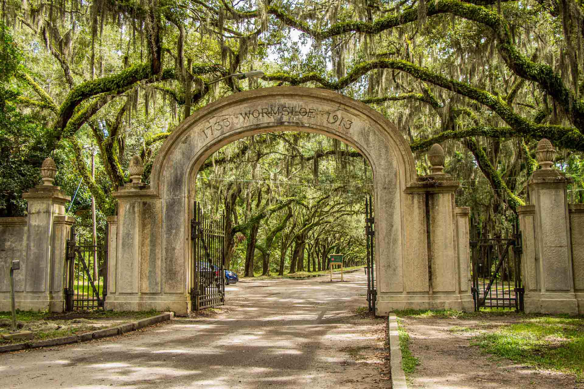 Family Can Travel - 2 Days in Savannah with Kids - Wormsloe Historic Site Entrance