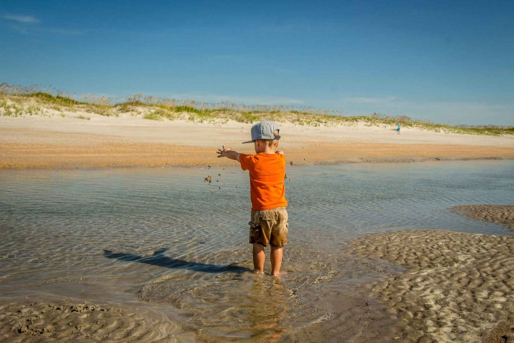 destination ideas for southern usa road trip with kids - Wilmington, North Carolina