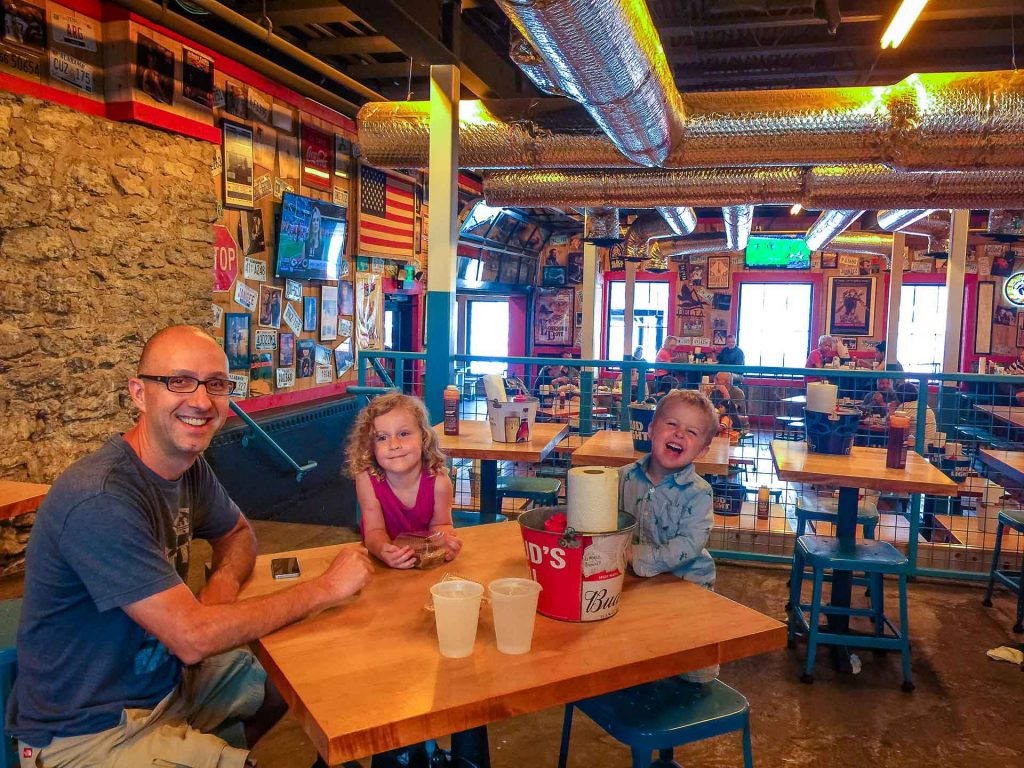 Family Can Travel - A Day in Nashville with Kids - Martins BBQ Joint