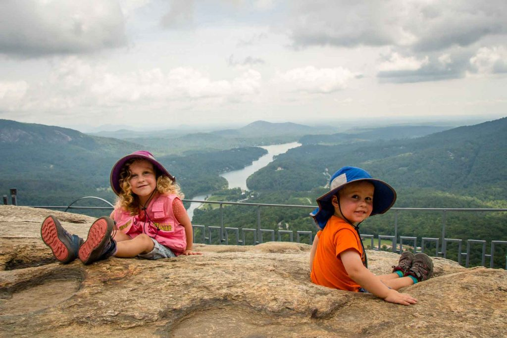 Family Can Travel - Three Days of Hiking Around Asheville, NC with Kids - Chimney Rock State Park - Chimney Rock Lookpout Point (2)