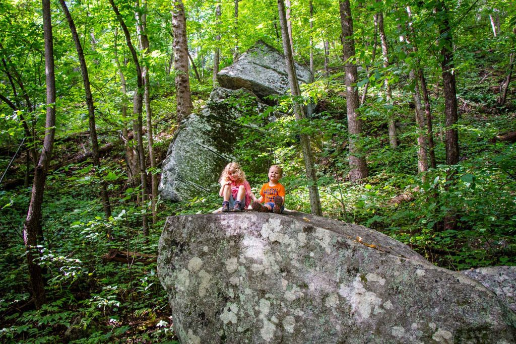 Family Can Travel - Three Days of Hiking Around Asheville, NC with Kids - Chimney Rock State Park - Four Seasons Trail (3)