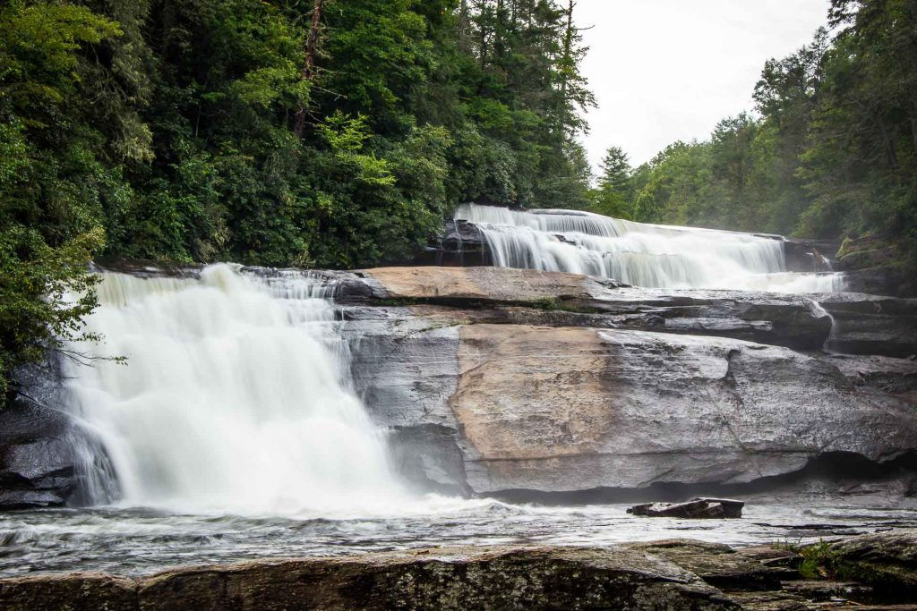 Family Can Travel - Three Days of Hiking Around Asheville, NC with Kids - Dupont State Forest - Triple Falls Hike (6)