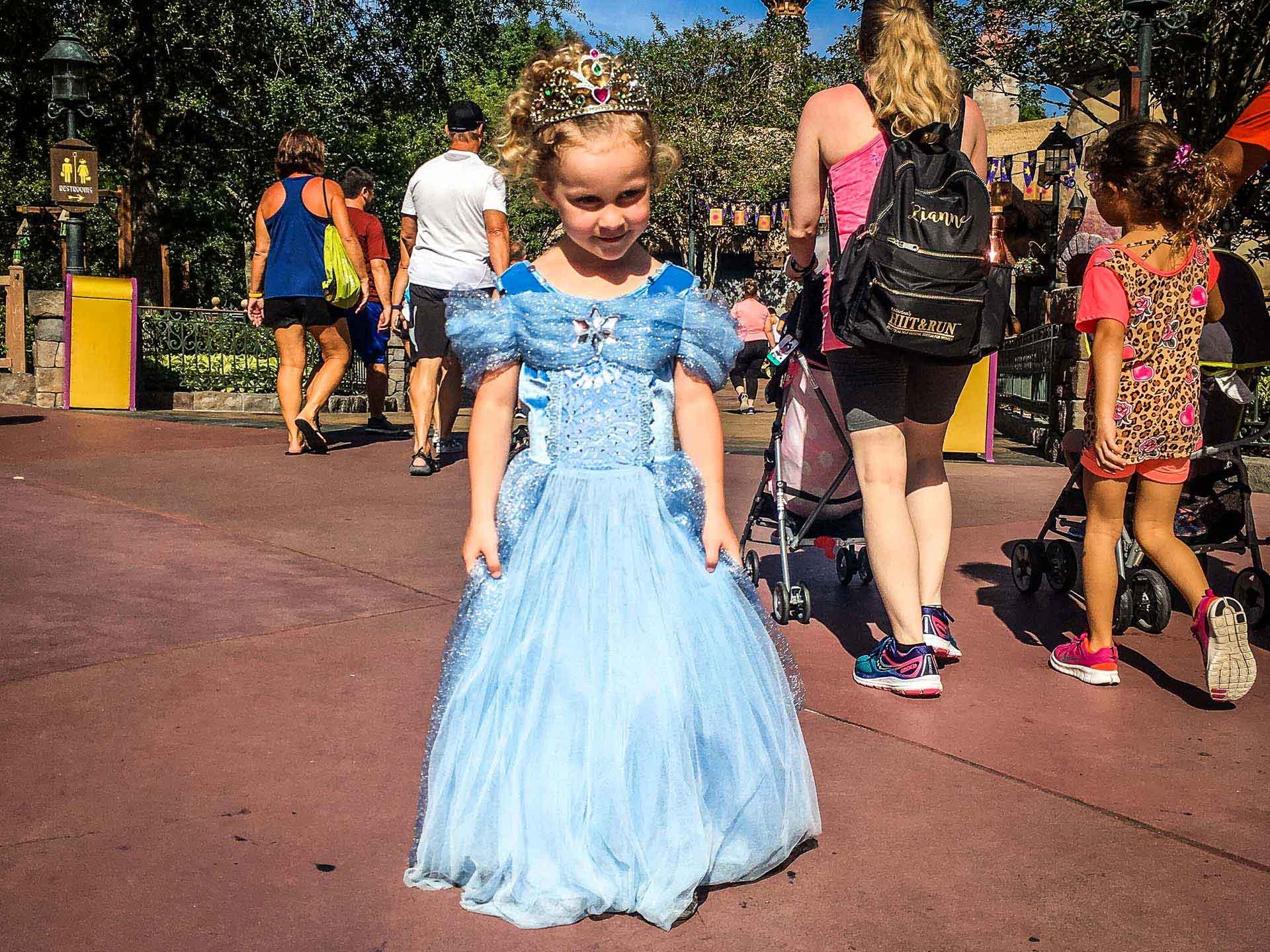 Every little girl needs a princess dress