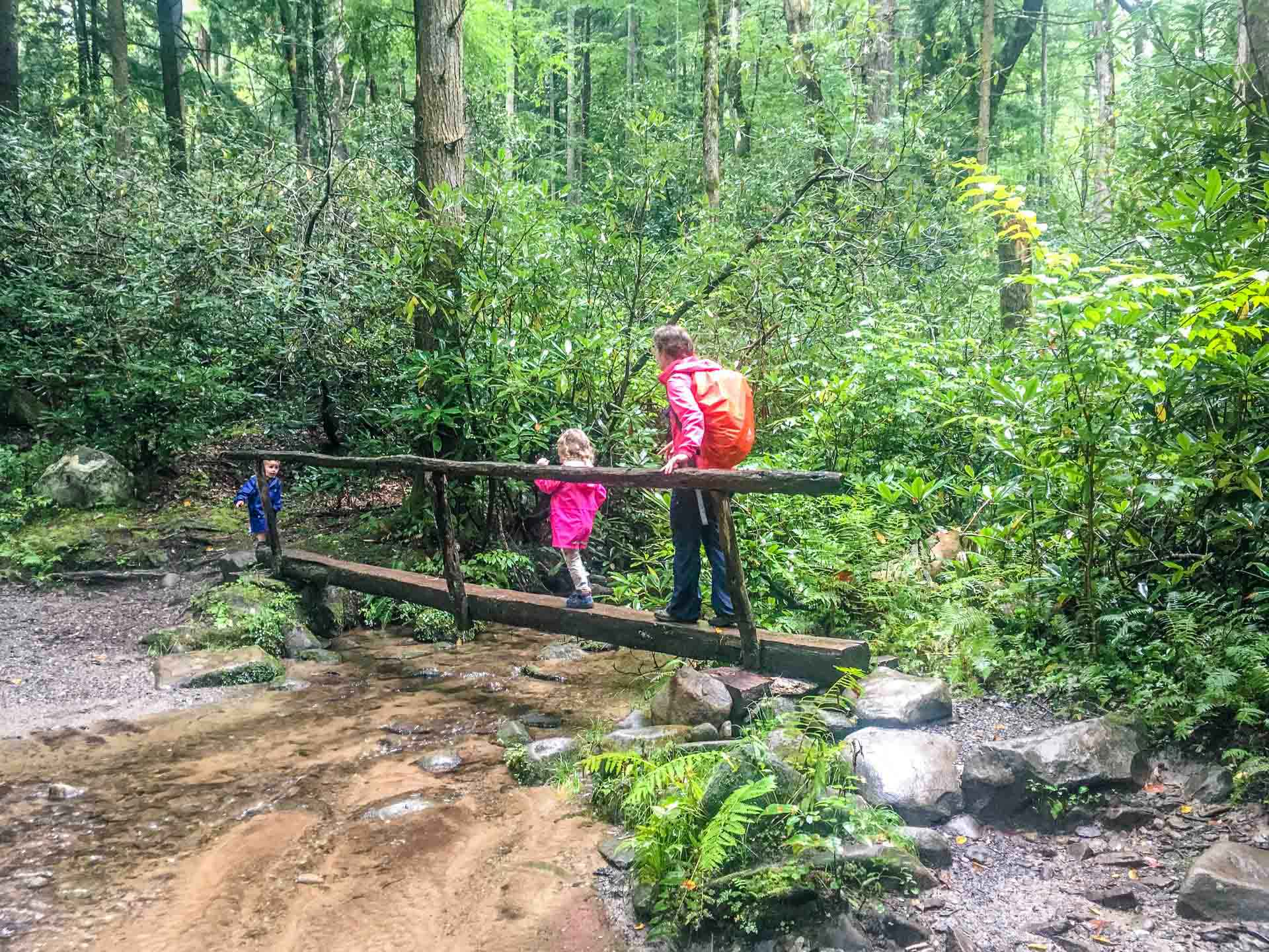 Hiking with Kids Great Smoky Moutains