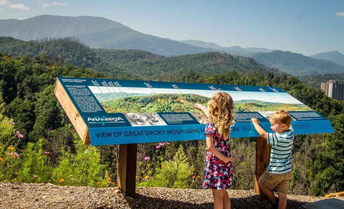 Anakeesta in Gatlinburg Great Smoky Mountains NP