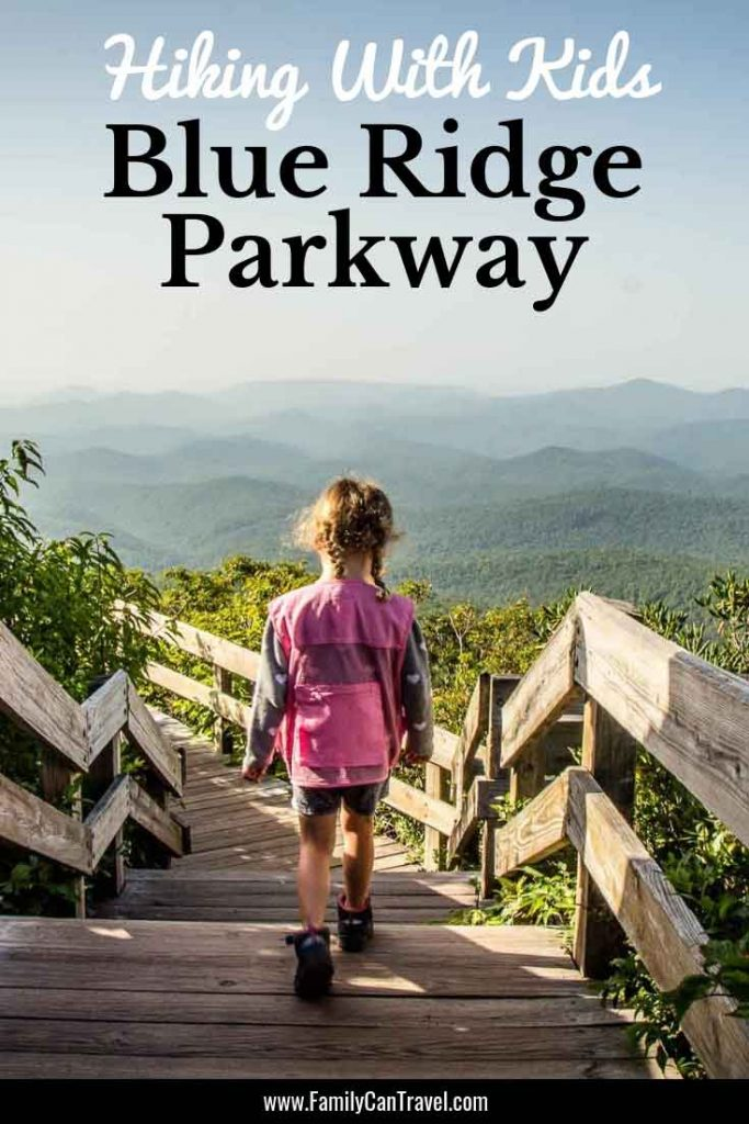 Don't miss these incredible family friendly hikes along the Blue Ridge Parkway #blueridgeparkway #hikingwithkids | Hike with children | Hiking Blue Ridge Parkway | North Carolina | Kid Friendly Hikes