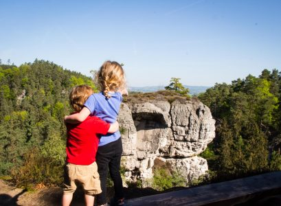 Hiking from Hruba Skala to Valdstejn Castle Bohemian Paradise With Kids