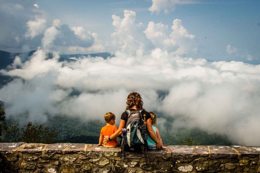 Shenandoah road trip with kids - Millers Head Trail