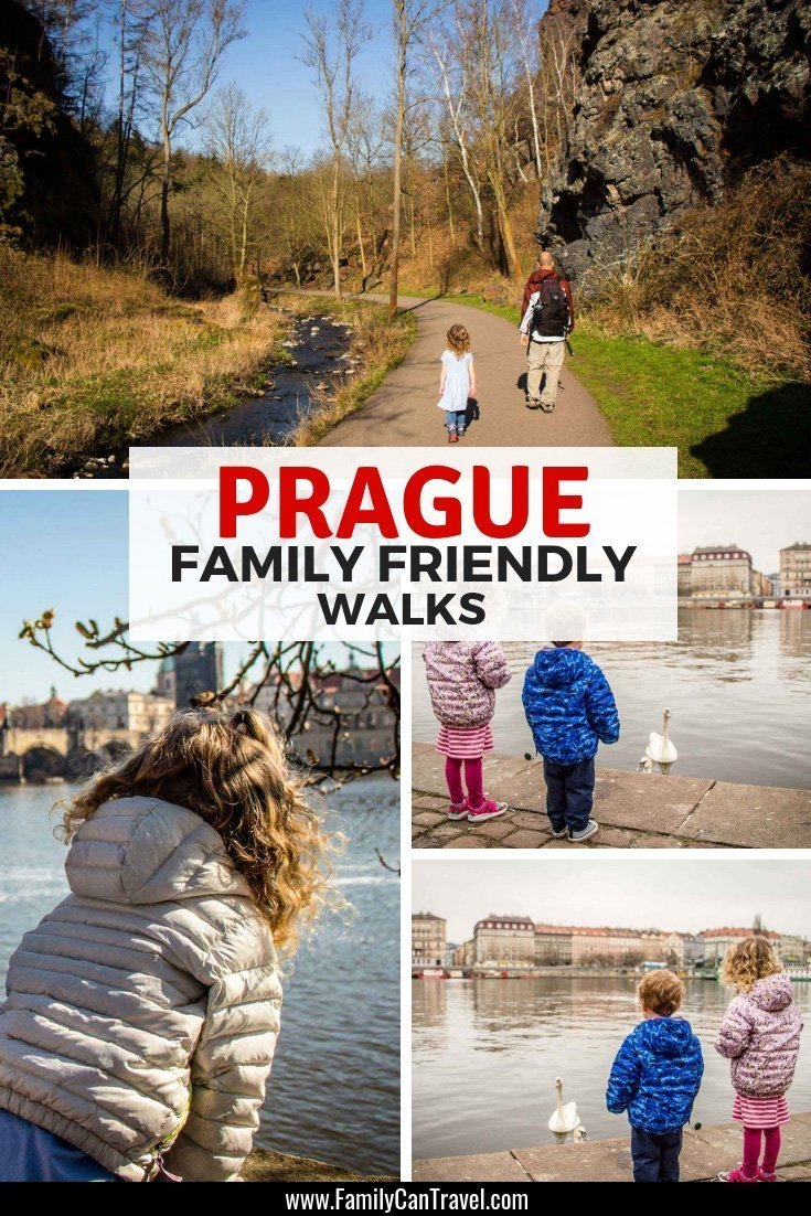 Prague has something wonderful around every corner and the best way to experience it is by walking! Here are 6 family friendly walks in Prague that are suitable for kids. #prague #czechrepublic #travelwithkids || Prague with Kids | Things to do | Itinerary | Trip Planning | Prague Czech Republic | Czechia | Travel with children