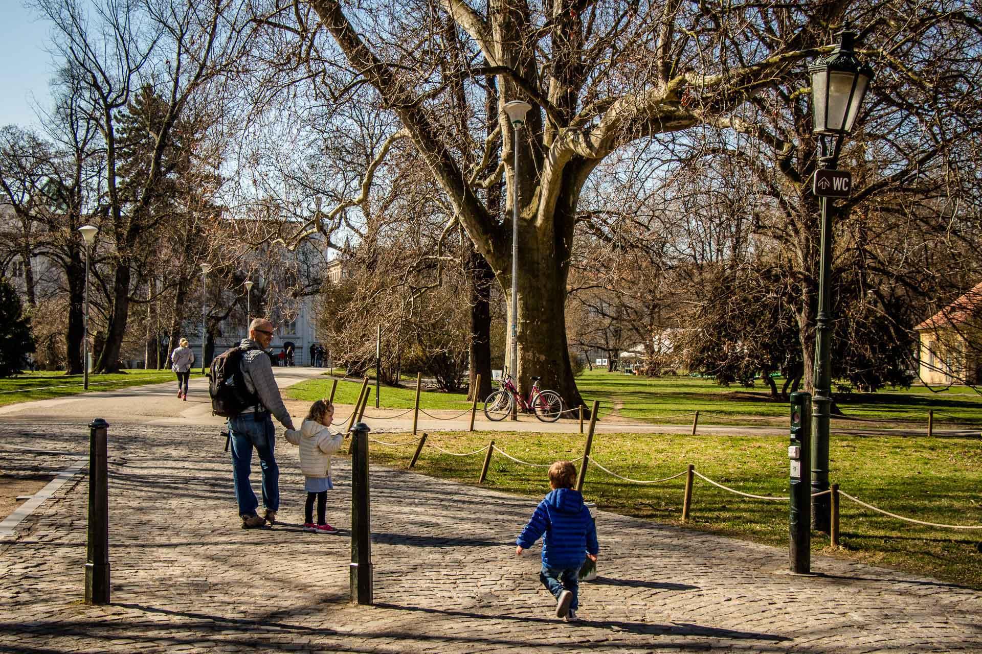 City Walks in Prague with Children