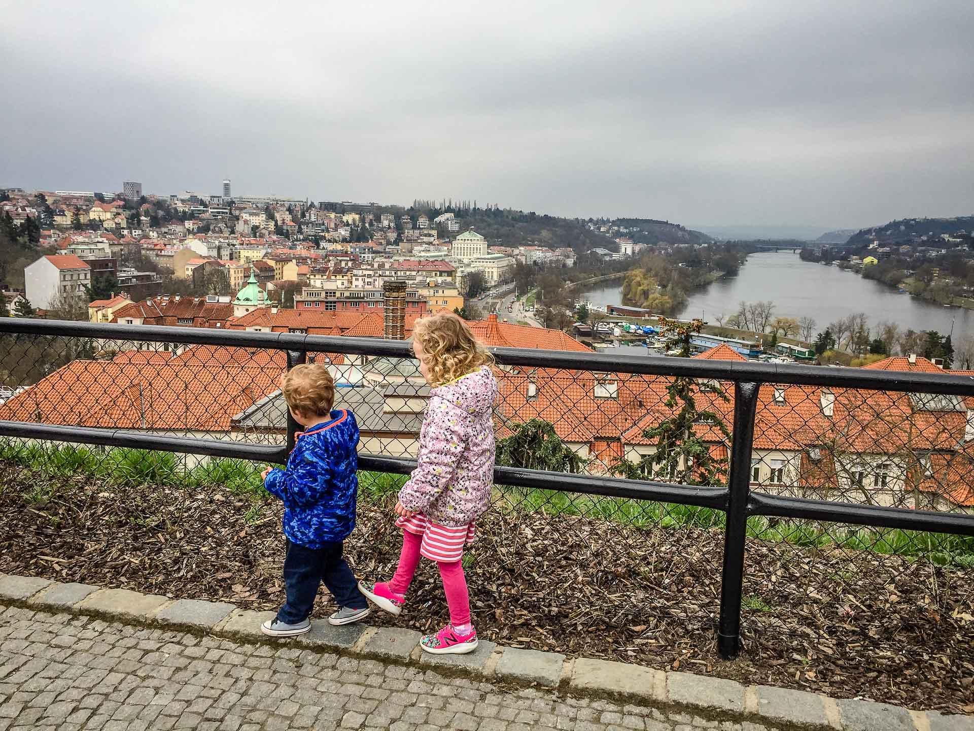 City Walks in Prague with Kids