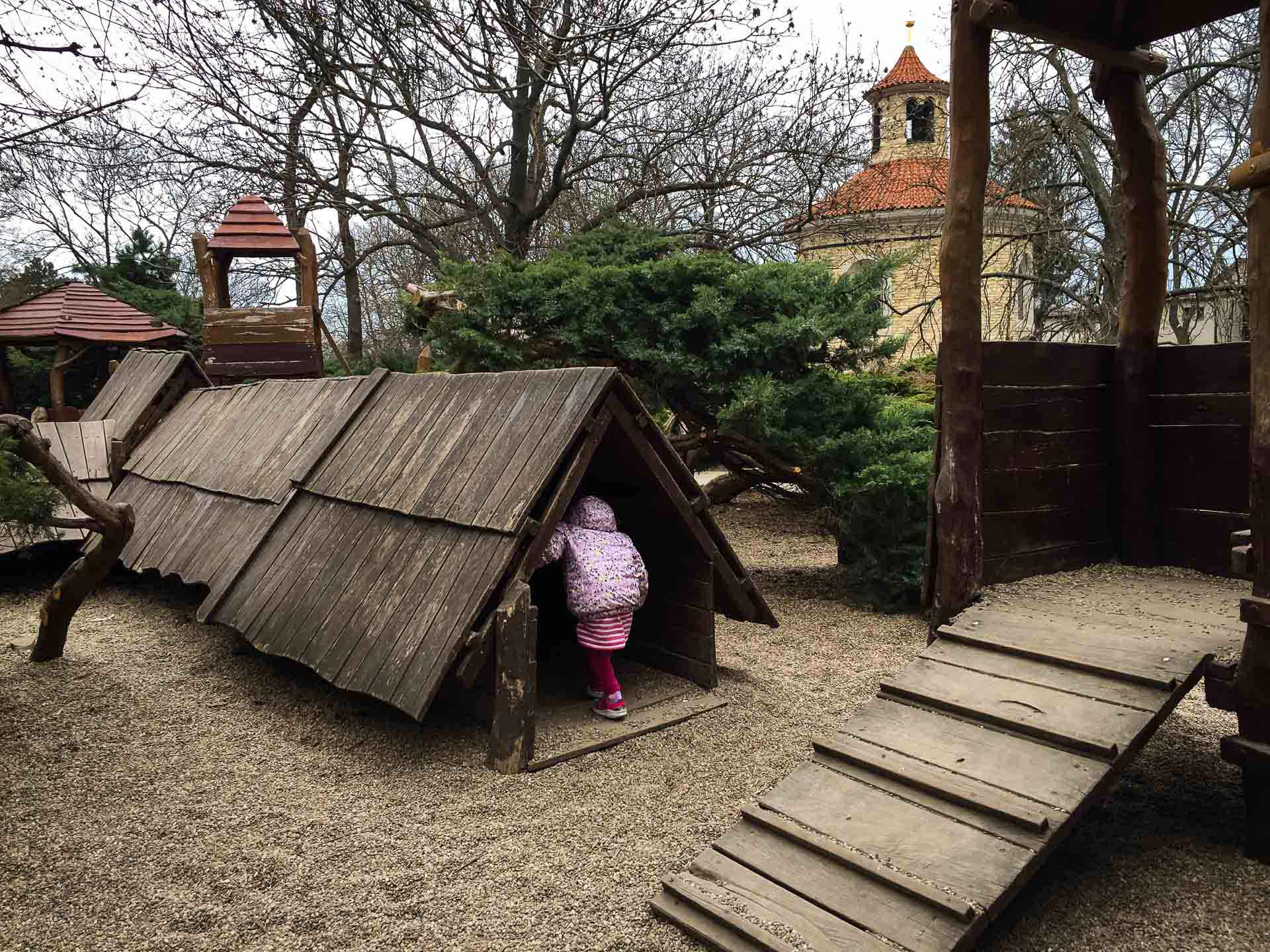 City Walks in Prague with Kids to Playgrounds