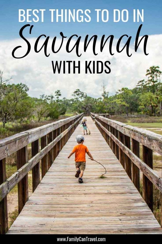 Savannah Georgia with Kids. We cover it all from exploring the city to getting in nature! Read this before you go to Savannah with Kids! #savannah #georgia #savannahwithkids | Savannah, Georgia | Travel with kids | Itinerary | Things to Do | Savannah with Children |