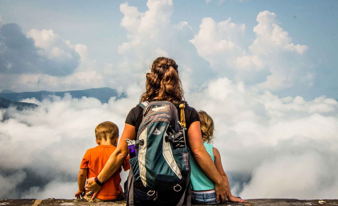Hiking with Kids in Shenandoah National Park