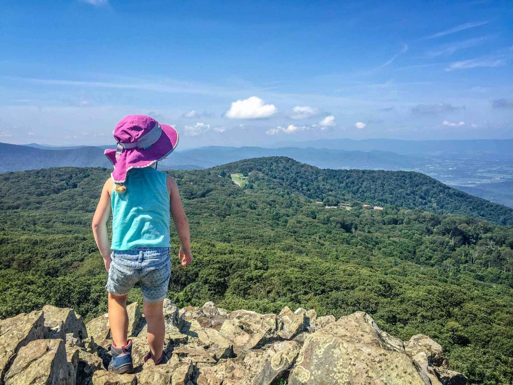 best family road trip destinations - Shenandoah National Park with kids