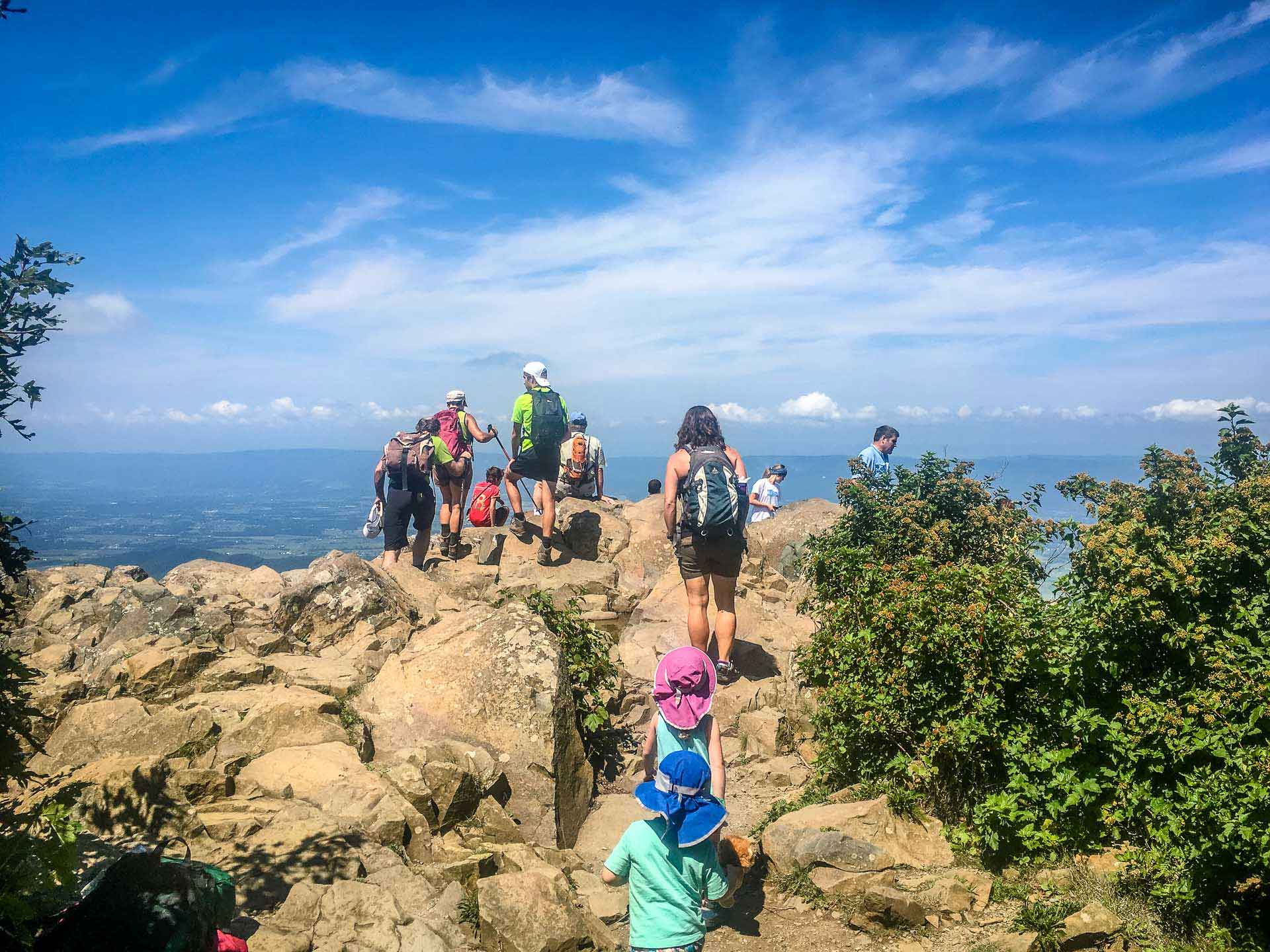 Stony Man Hike with Kids Shenandoah