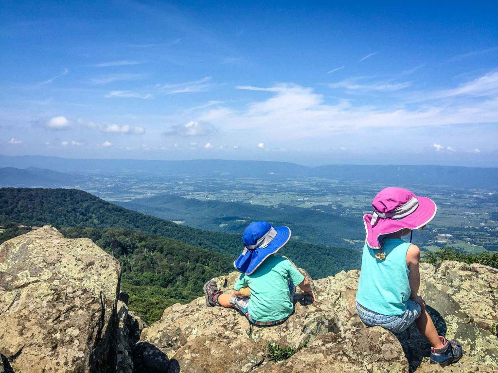 best road trips in america - Shenandoah National Park with kids - Stony Man Hike