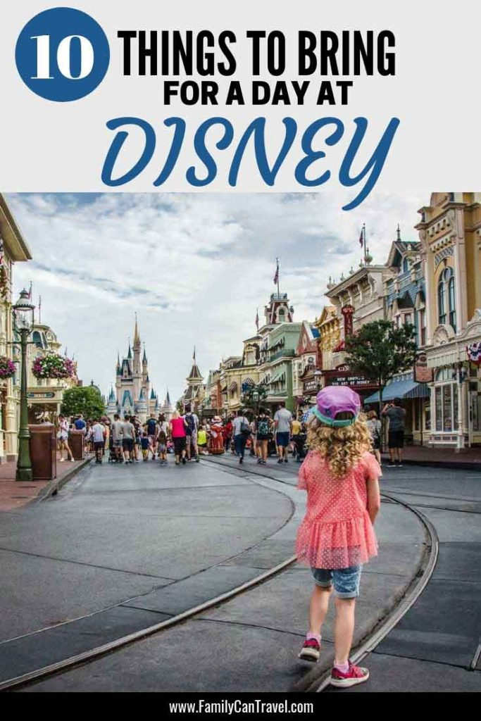 What to bring for your first trip to Disney with Kids? Here are the top essentials we brought to Magic Kingdom #disney #magickingdom | Disney with children | First time trip to Disney | Magic Kingdom | Disney Essentials | What to Pack | What to Bring