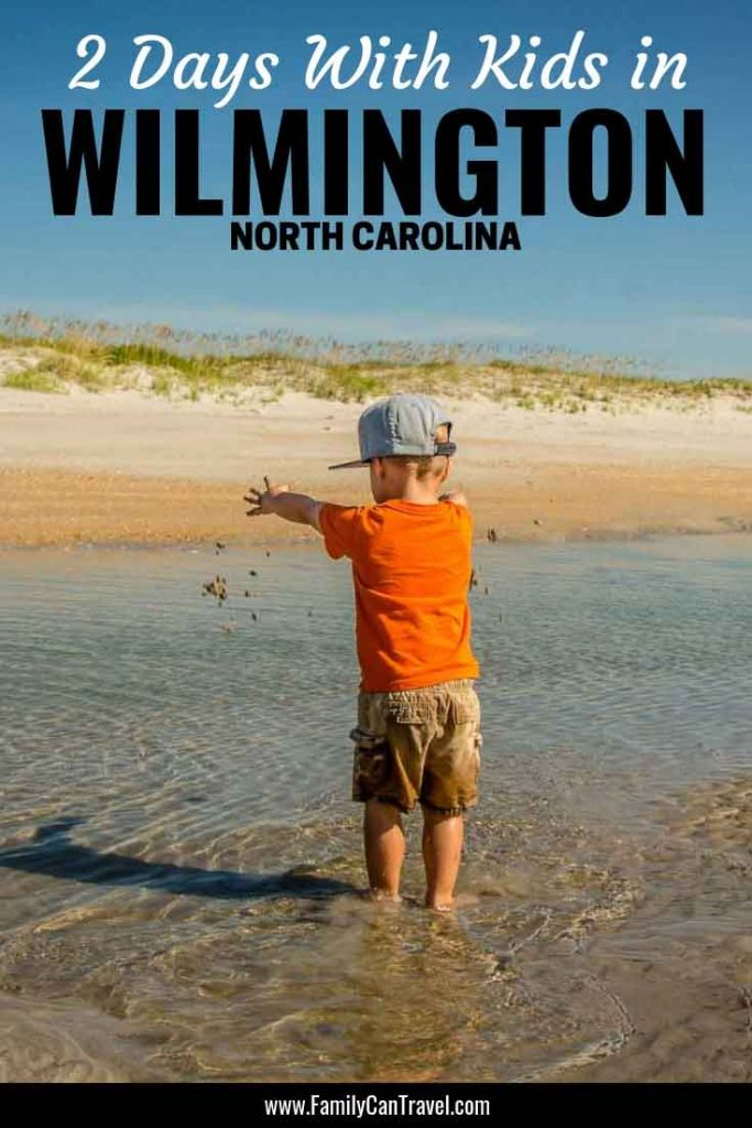 We almost didn't stop in Wilmington, but we loved it and wanted to stay longer! Here's what we did with kids in Wilmington North Carolina. #wilmington #northcarolina #travelwithkids | Wilmington with kids | Venus Flytraps | Things to do | Fort Fischer Recreational Area | Masonboro Island