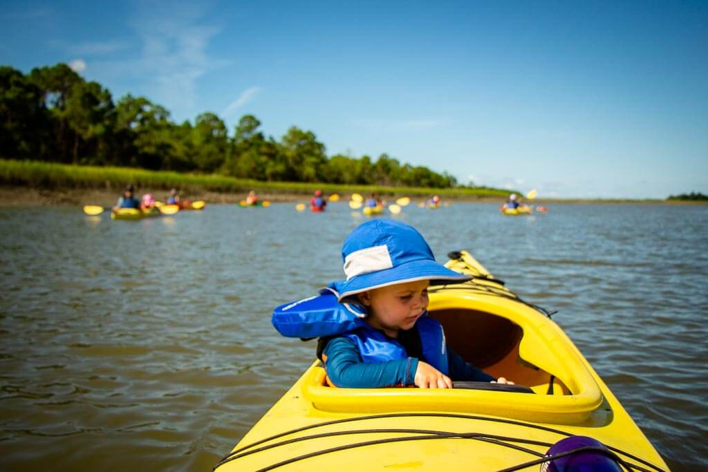 Family Can Travel - 48 Hours in Charleston South Carolina with Kids - Kayaking with Charleston Outdoor Adventures (1)
