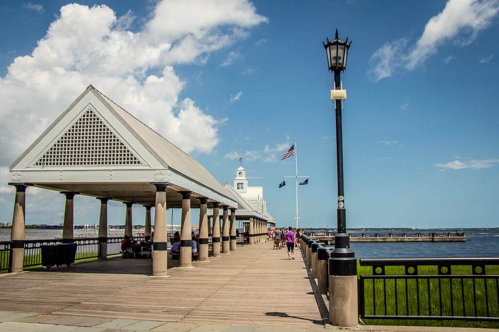 waterfront park in Charleston - things to do with kids