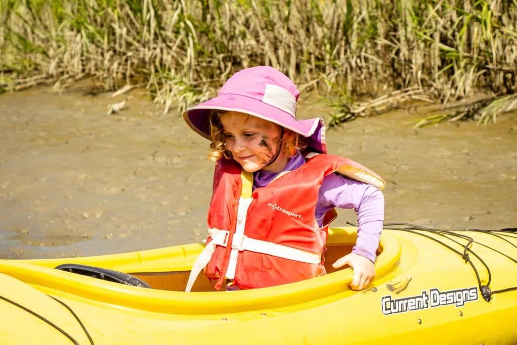 things to do in charleston, sc with kids - kayaking tour