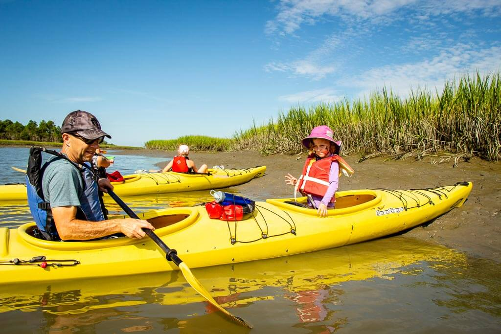 best things to do in Charleston South Carolina with Kids - Kayaking with Charleston Outdoor Adventures (2)