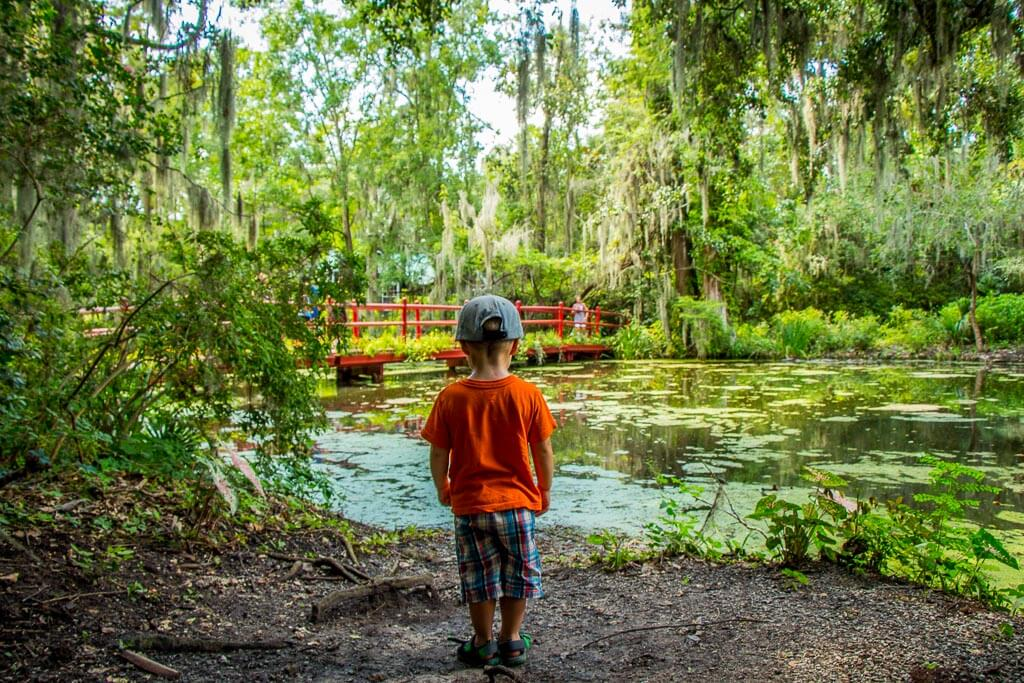 south usa road trip with kids - 48 Hours in Charleston, SC - Magnolia Plantation