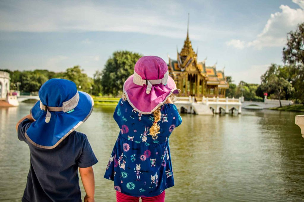 Bang Pa-In Palace from Ayutthaya Thailand with Kids