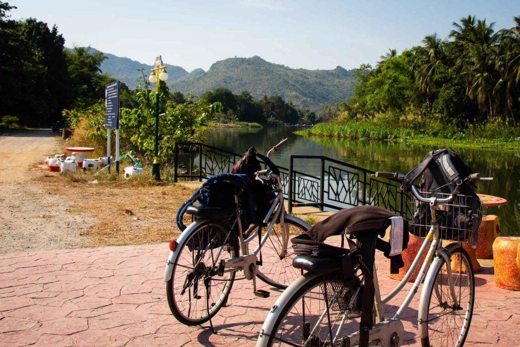 Biking in Kanchanaburi