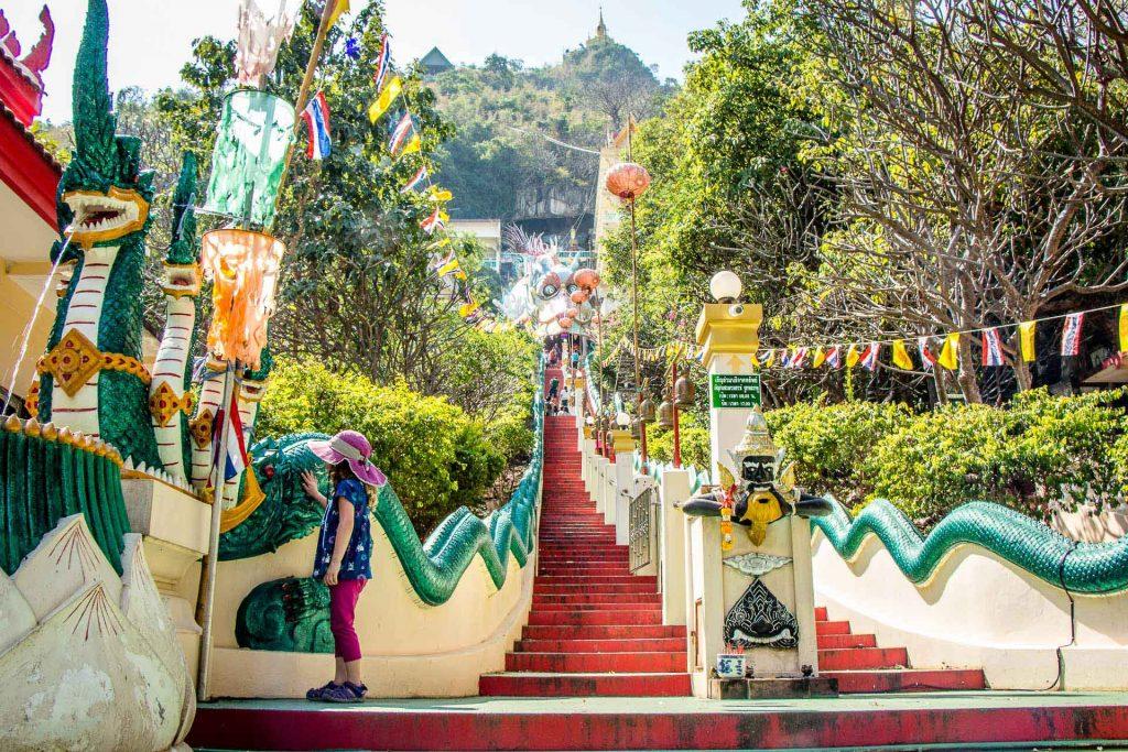 Wat Ban Tham Kanchanaburi Thailand