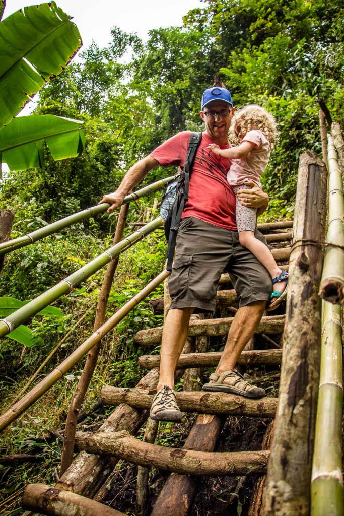 Ban Mae Klang Luang Nature Trail with Kids in Thailand