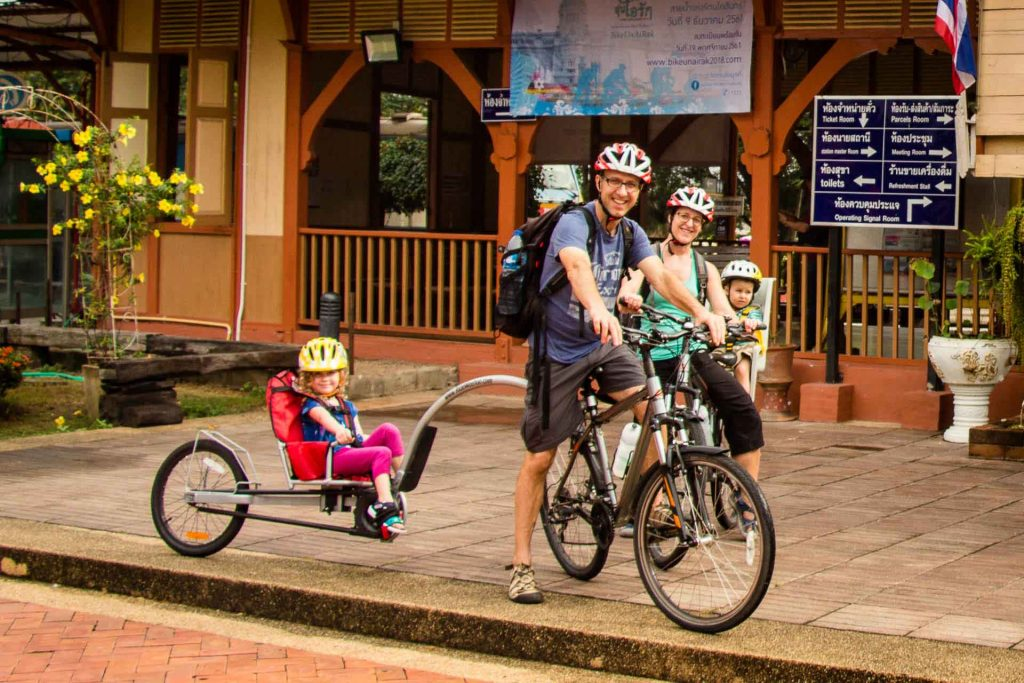 Grasshopper Adventures Cycle Tour in Chiang Mai with Kids
