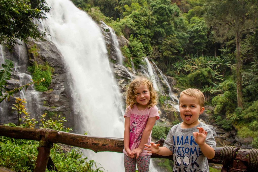 Chiang Mai Doi Inthanon National Park with Kids