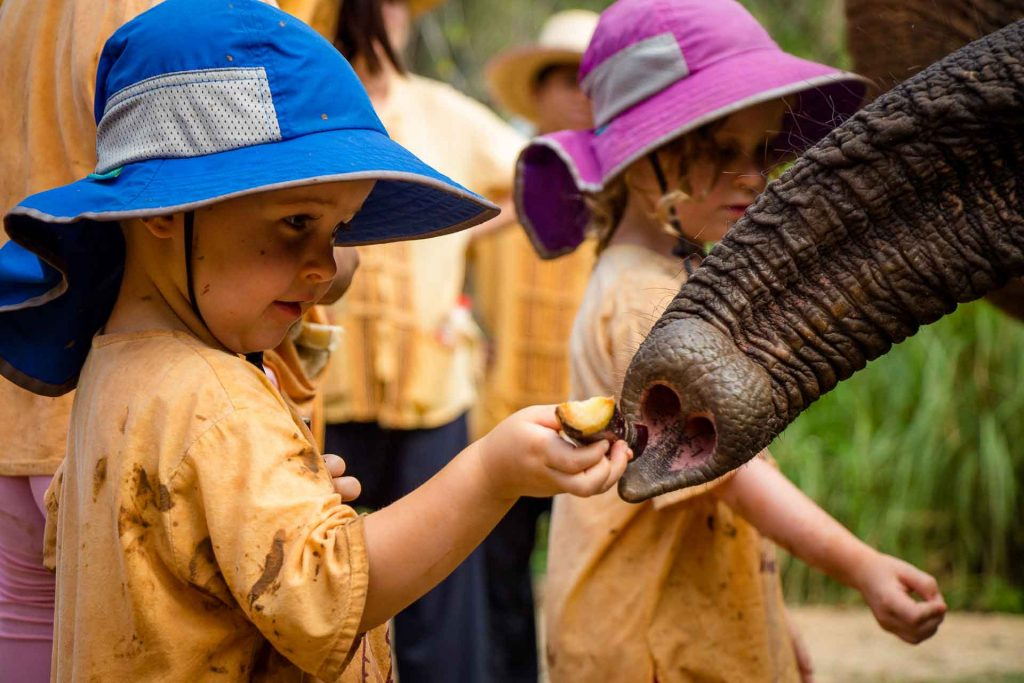 Elephant Nature Park Thailand with Kids