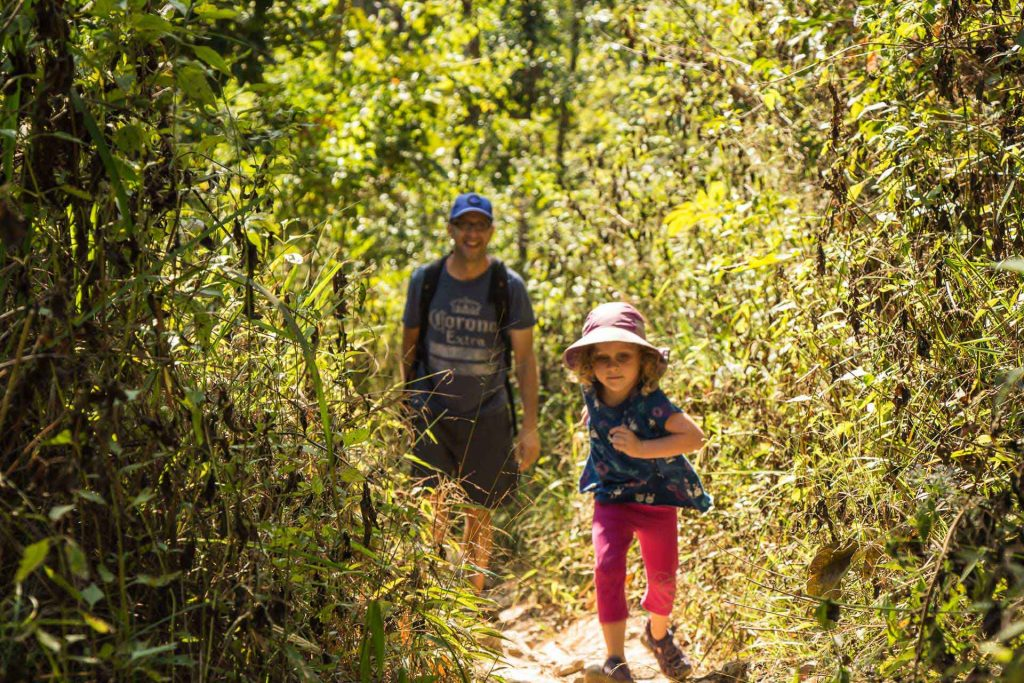 Hiking with kids in Chiang Mai
