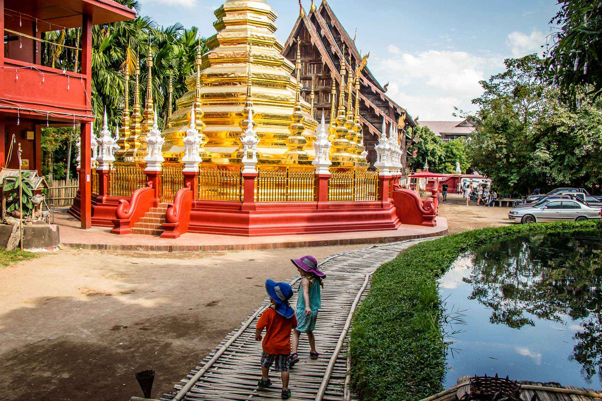 Chiang Mai Temples with Kids