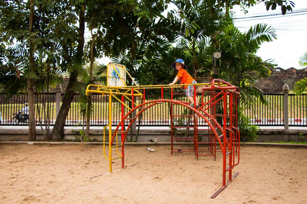 Playground in Chiang Mai Thailand