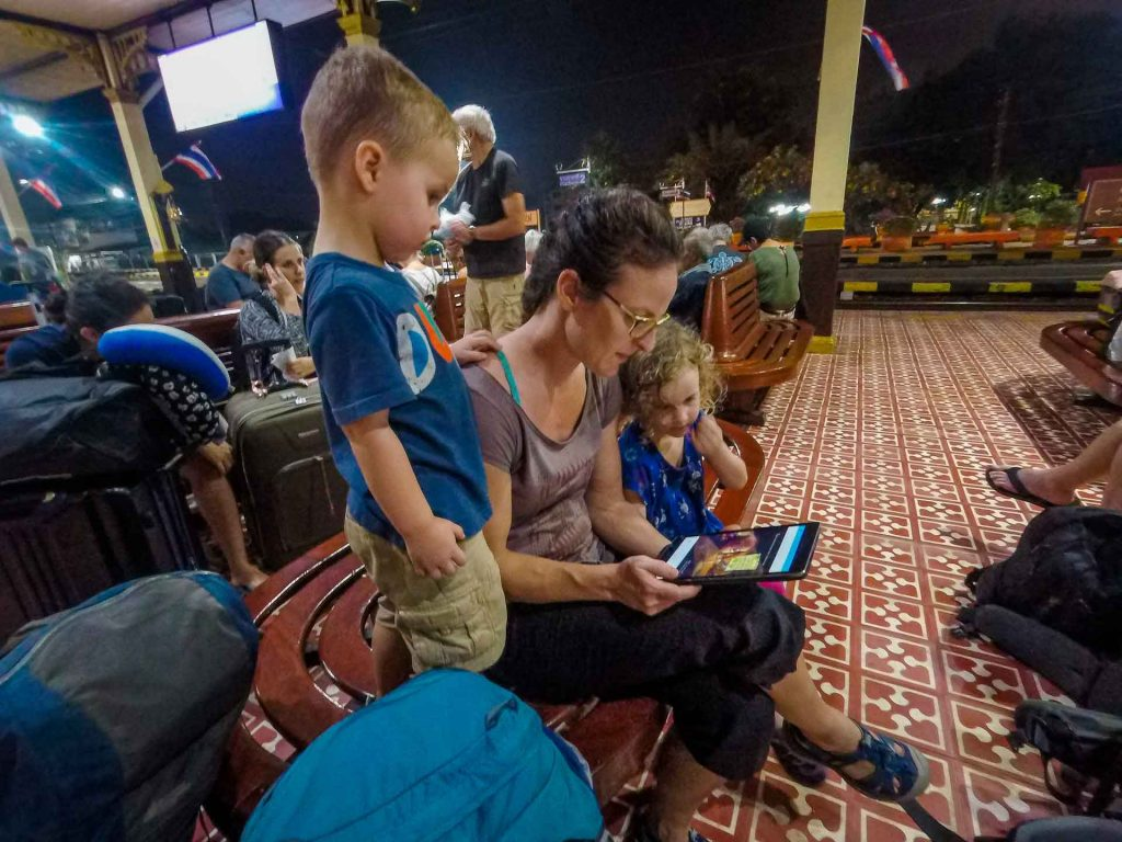 Train Bangkok to Chiang Mai with Kids